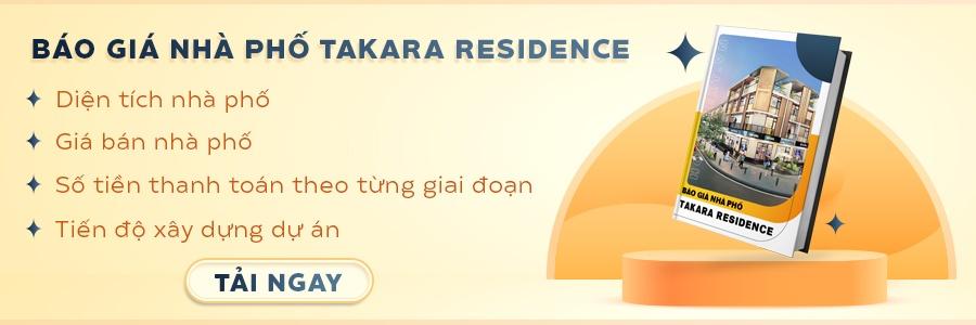 CTA báo giá nhà phố Takara Residence