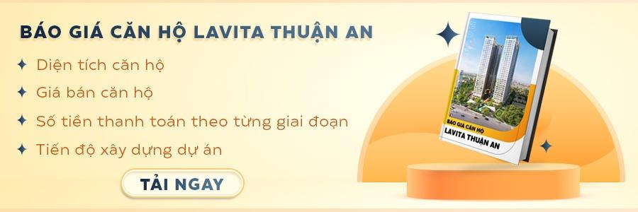 CTA báo giá căn hộ Lavita Thuận An