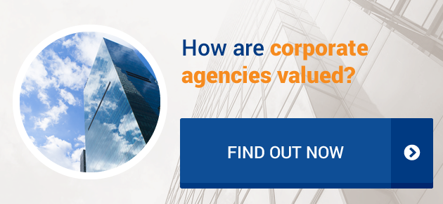 How are corporate agencies valued?