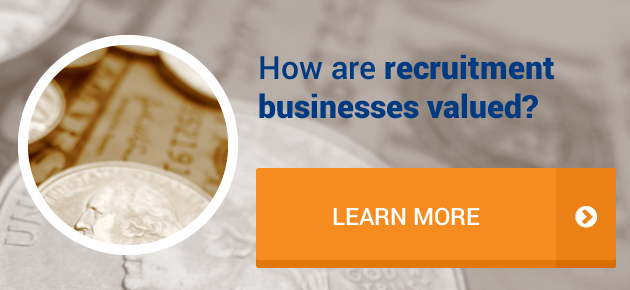 How are recruitment businesses valued?