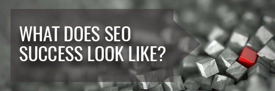 What does SEO success look like?