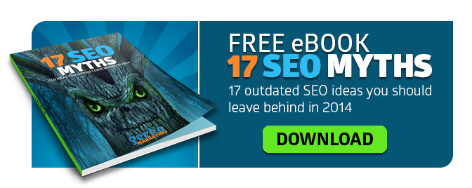 ebook: 17 SEO Myths