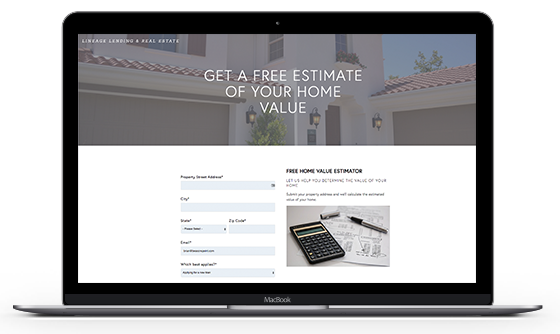 Lineage Lending Home Value Estimator - Know The Value of Your Home