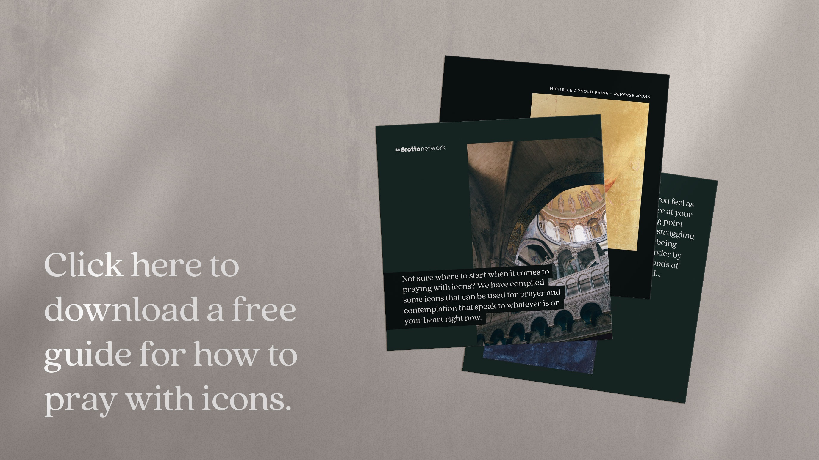 Click here to download a free guide for how to pray with icons.