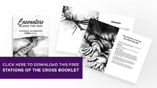 Click here to download this free Stations of the Cross booklet.