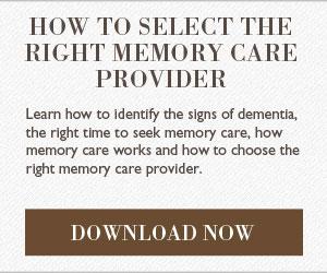 Download your Senior Memory Care Checklist