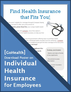 [ GoHealth ] Download Poster on Individual Health Insurance for Employees