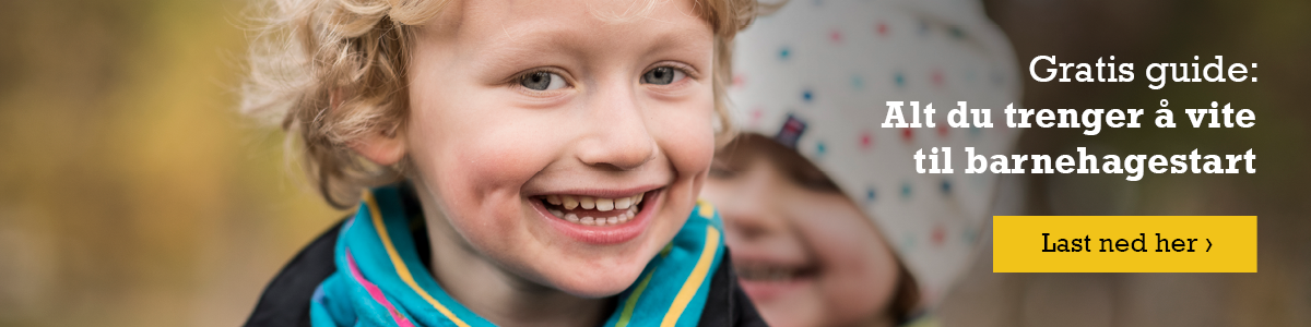 Last ned gratis: Alt du trenger å vite til barnehagestart Last ned nå ›