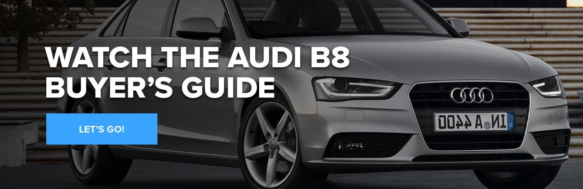Audi B8 Video Buyer's Guide