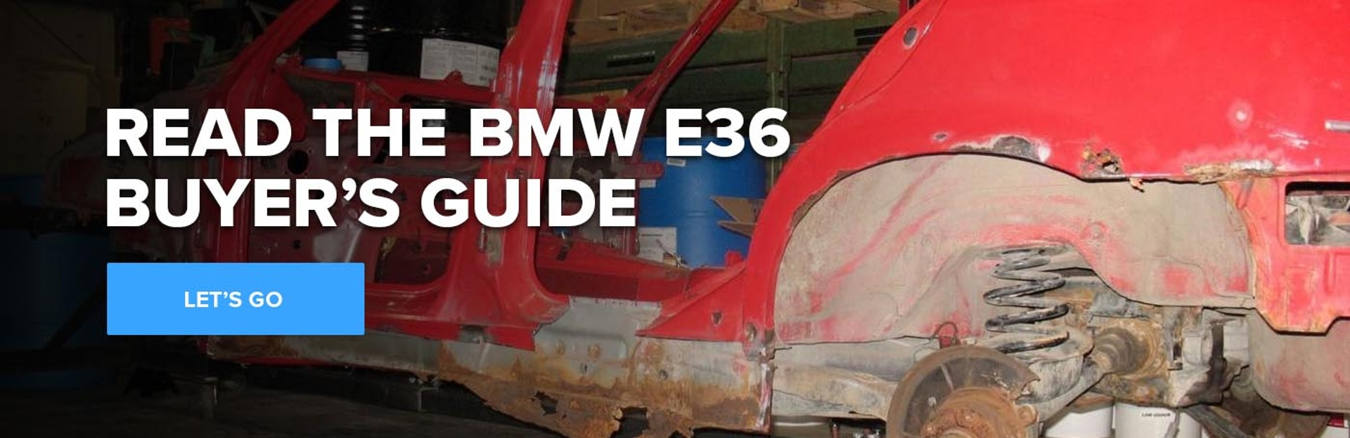 Read the BMW E36 Buyer's Guide