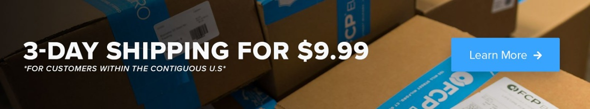 3-Day Shipping for $9.99 at FCP Euro