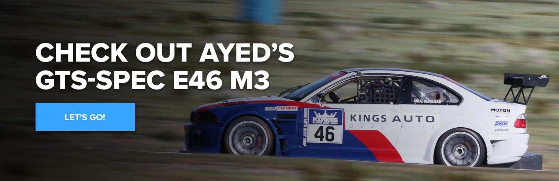 NASA GTS-SPEC BMW E46 M3 CTA