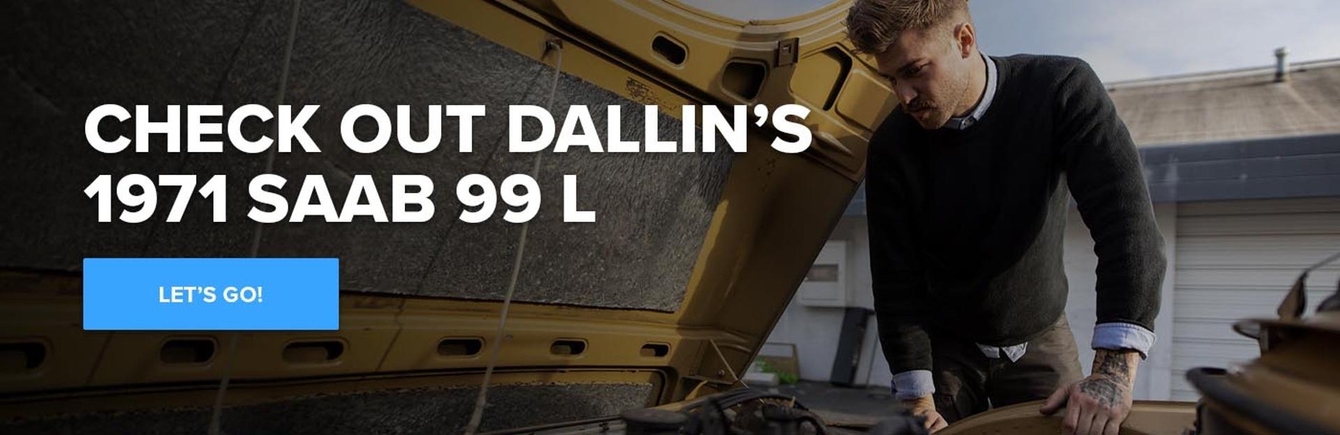 Read Dallin's 1971 Saab 99 L Story