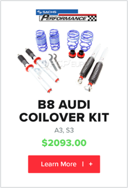 B8 Audi A3 quattro s3 coilover kit