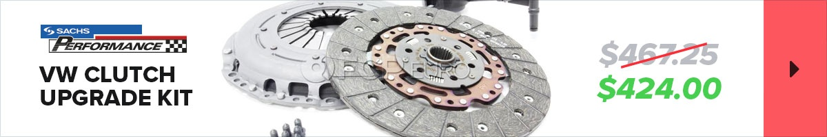 Sachs Performance VW Clutch Upgrade Kit - $424.00