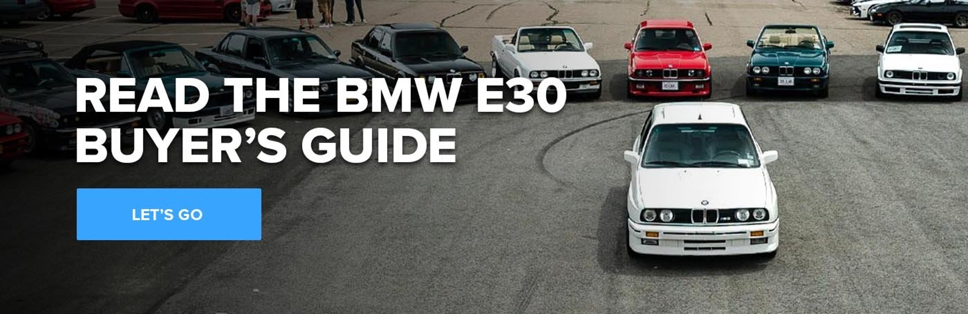 Read the BMW E30 Buyer's Guide