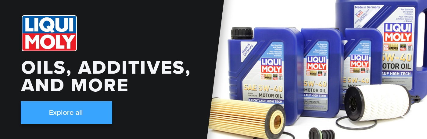 Explore LIQUI MOLY oils, additives, and more.