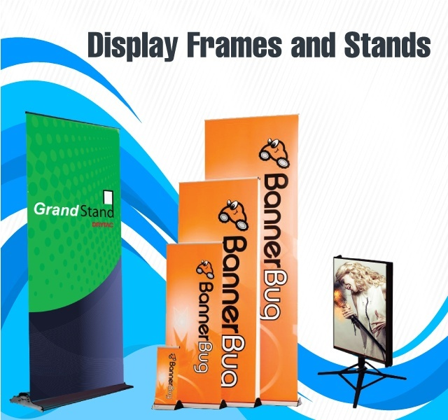 Display Frames and Stands