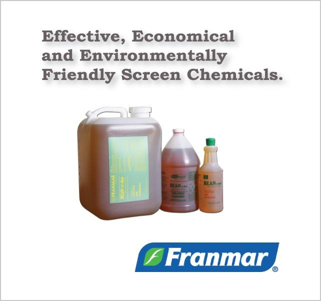 Franmar Screen Printing Chemicals