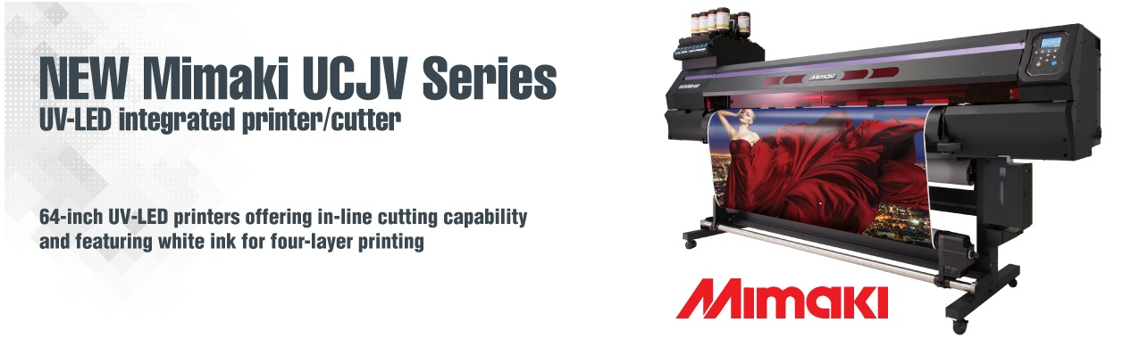 Mimaki UCJV Series Print and Cut