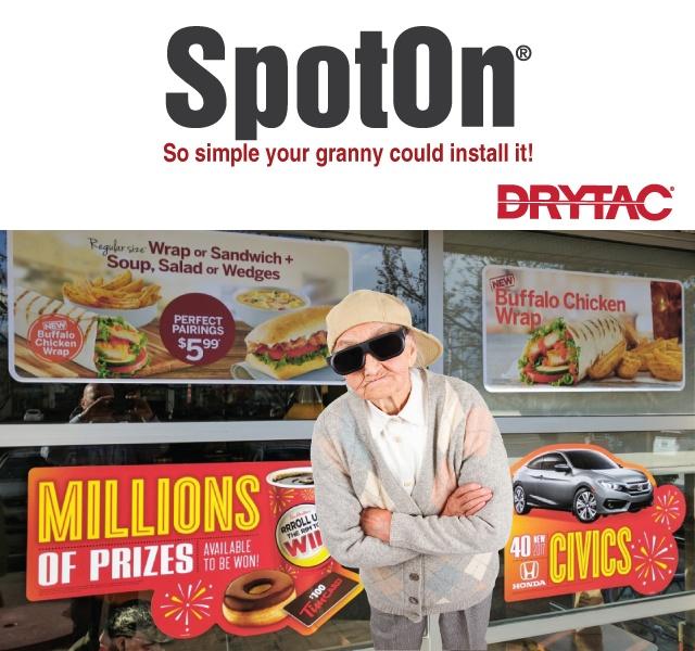 Drytac Spot On