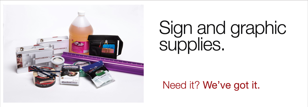 Sign and Graphic Supplies