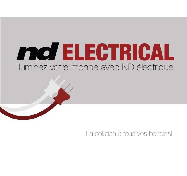 ND Graphics Produits electrique