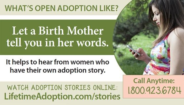 Click to hear other women's adoption stories