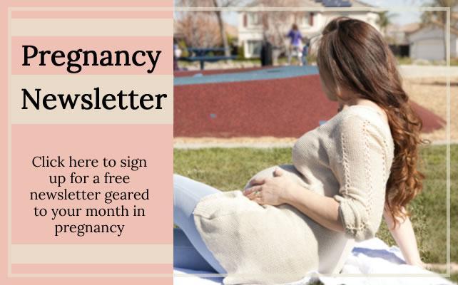 Pregnancy newsletter sign up