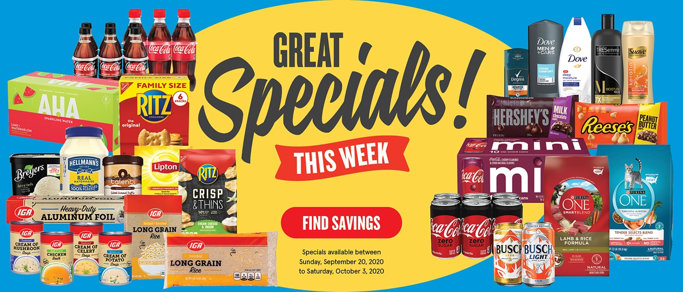 Great Specials! This Week. Find Savings.