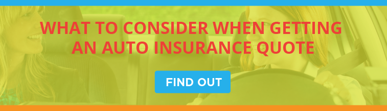 What to Consider When Getting an Auto Insurance Quote