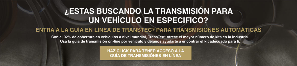 la guía en línea de TransTec para transmisiónes automáticas