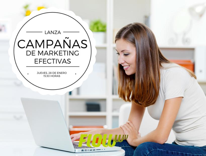 Lanza campañas de marketing efectivas