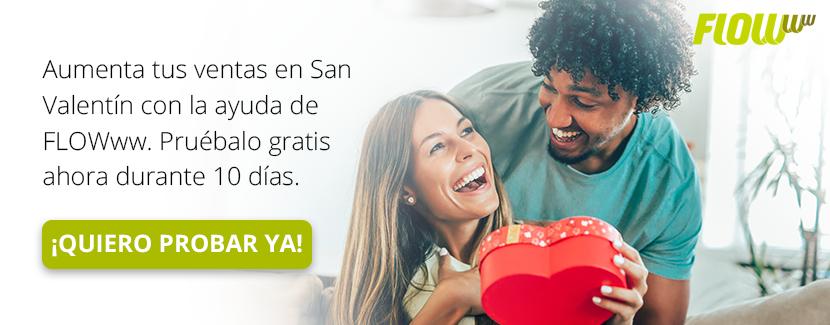 Prueba gratis   Aumenta tus ventas en San Valentín con FLOWww