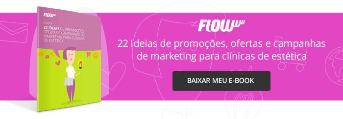 E-book 22 ideas para campanhas de marketing para clínicas de estética.