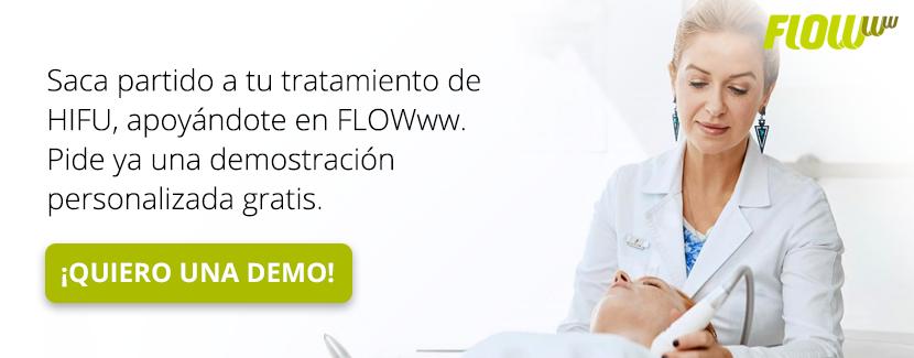 Pide una demostración personalizada de tu tratamiento de HIFU con FLOWww