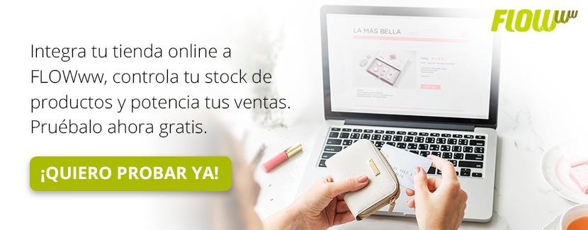 Prueba gratis | Impulsa tus ventas y controla tu stock integrando tu tienda online con FLOWww