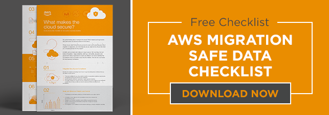 Free Checklist for AWS Migration Safe Data