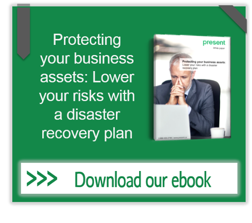 Protecting your business assets: Lower your risks with a disaster recovery plan