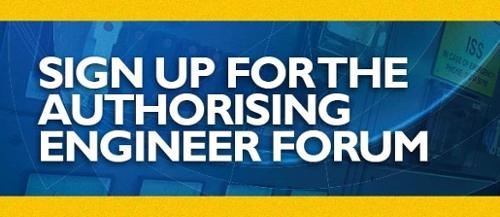 Sign up for the Authorising Engineer Forum