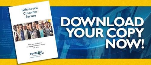 Download DTL's Behavioural Customer Service whitepaper
