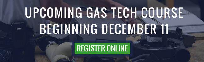 full time gas techincican training november