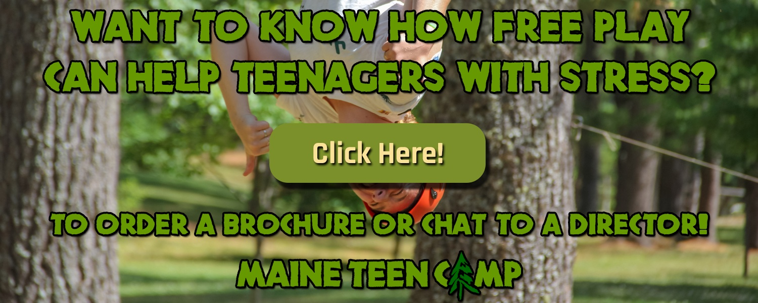 Want to know how free play can help teenagers with stress?