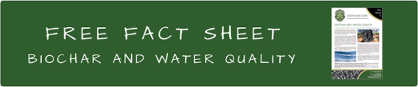 Free fact sheet - biochar and water quality