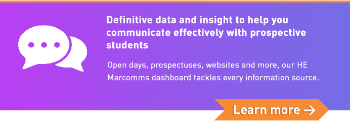 Definitive data and insight to help you communicate effectively with prospective students. Learn more.