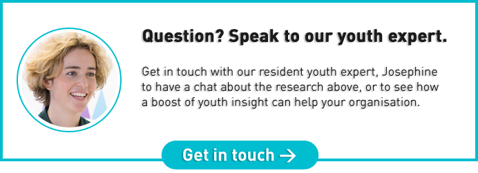 Question? Speak to our youth expert Josephine Hansom.