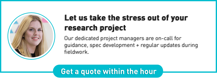 Let us take the stress out of your research project.