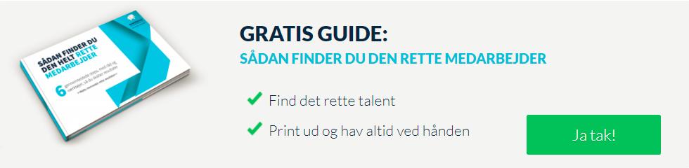 Få din gratis rekrutteringsguide