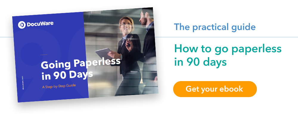 """E-Book """"Going Paperless in 90 Days"""""""
