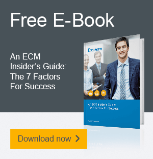 An ECM Insider's Guide: The 7 Factors For Success - Download Now